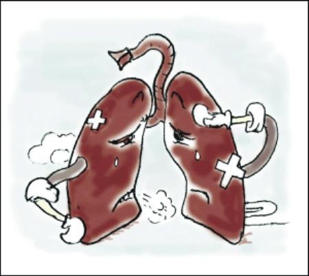 中药治疗晚期肺癌